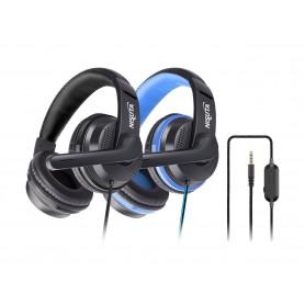 Auricular Gamer Nisuta Ps4 Unipin 3.5mm Vincha Con Microfono Nsaug90s Control De Volumen Headset Gaming