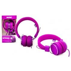 Auricular Con Cable Mow Manos Libres Pink Mw-Spring Wired Con Microfono Cable 1.2Mts