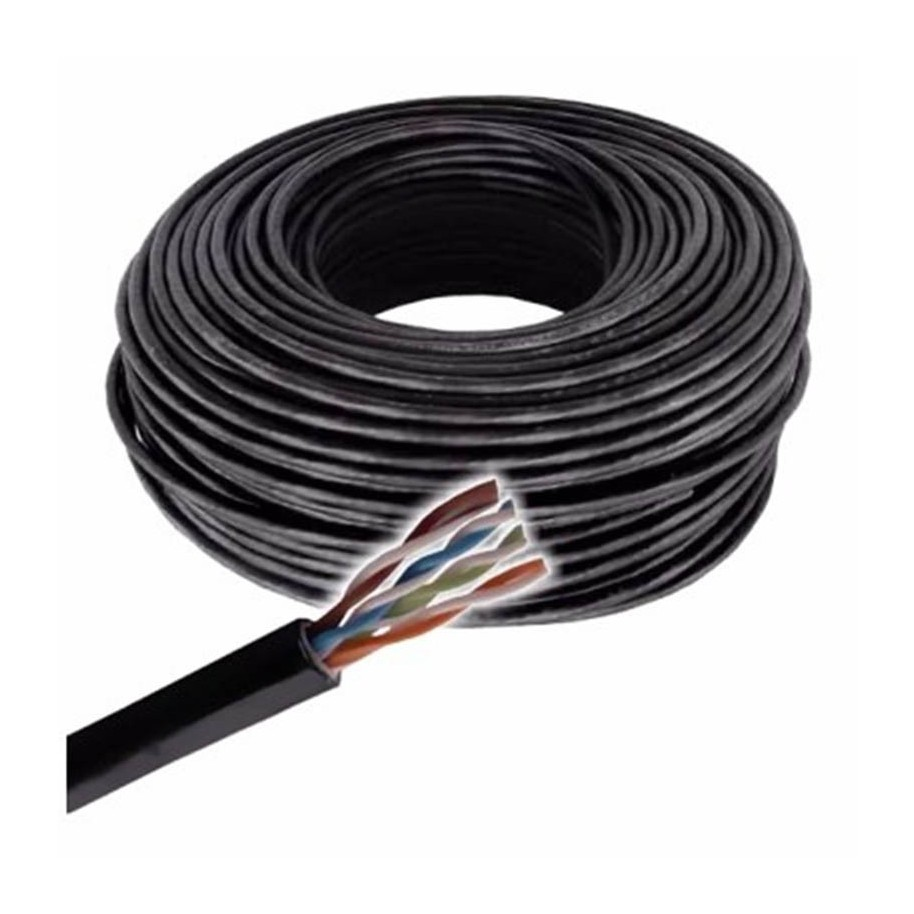 cable red utp exterior x100 mts categoria 6