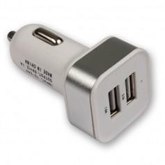 CARGADOR USB AUTO DOBLE 2A + 1A NOGA WE-1023