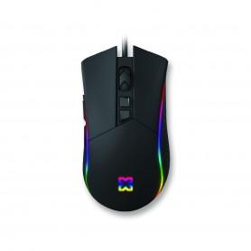 Mouse Gaming Usb Soul Xm-550 6400Dpi 6 Botones Gamer Dpi Ajustable
