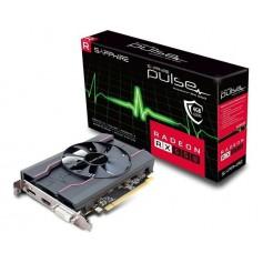 Placa De Video Rx550 4Gb Ddr5 Pulse Sapphire Pci-E Displayport Hdmi Dvi Aceleradora De Video
