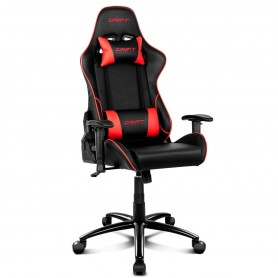 Sillon Gamer Drift Dr-125 Reclinable Acolchonada Butaca Black And Red Silla Pc Ps4 Almohadon Silla Gaming