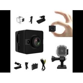 Mini Camara Espia Oculta Sq12 1080p Full Hd 12mp Carcasa Sumergible
