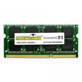 Memoria Ddr3 Sodimm 8Gb 1600 Mhz Kingston Kvr16Ls11/8 Low Voltage