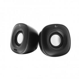 Parlante Xtech Pc Speakers 2.0 Black 3.5Mm Speackers 6w Xts-115bk