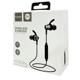 Auricular In Ear Bluetooth Marvo Wireless Black 4Hs Autonomia Dep001bk