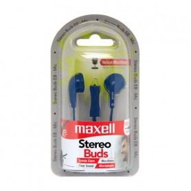 Auricular In Ear Maxell Con Cable Stereo Buds Con Microfono