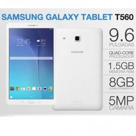 """TABLET SAMSUNG GALAXY TAB E 9,6"""" 8GB SM-T560 BLANCA"""
