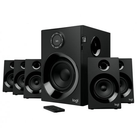 Parlante Logitech Z607 5.1 Surrondound Bluetooth Fm Usb Control Remoto 160W Pc Tv