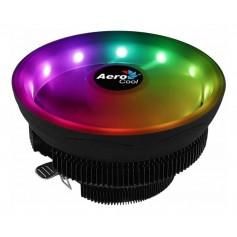 COOLER CPU AEROCOOL CORE PLUS ARGB PWM 4-PIN LUCES LED RGB 1151 AM4 FAN COOLER