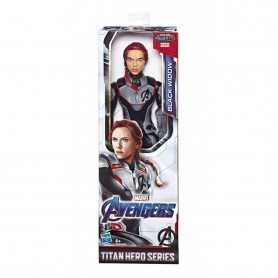 Figura Black Widow Marvel 30Cm Original Titan Hero Series Hasbro