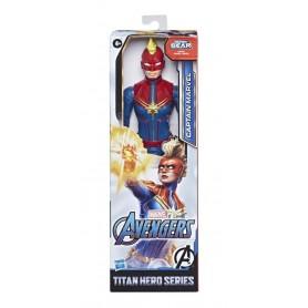 Figura Captain Marvel Marvel 30Cm Original Titan Hero Series Hasbro Capitana Marvel