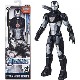Figura War Machine Marvel 30Cm Original Titan Hero Series Hasbro
