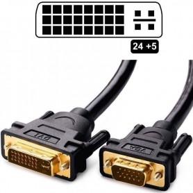 Cable Conversor Dvi-I Macho A Vga Macho 1.8 Macho