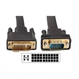 Cable Conversor Dvi-M A Vga Macho 5Mts