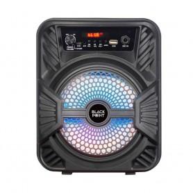 Parlante Portatil Blackpoint S32.4 Bluetooth Usb Fm 6W Negro