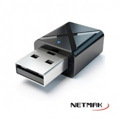 Transmisor Receptor Bluetooth Usb Netmak Nm-Bt8