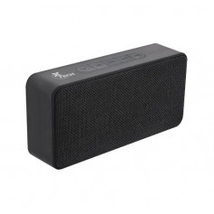 Parlante Xtech Portable Speaker Portable Foghat col Black 6w