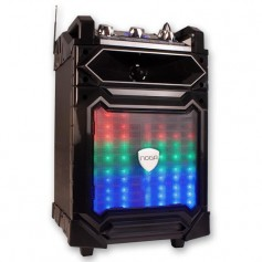 Parlante Portatil Noga 50W One Party Karaoke Luz Led Microfono Control Remoto Bluetooth Hpw-k16