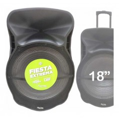 Parlante Portatil Acid Extreme 75w Kanji 18 Pulgadas Bluetooth Usb Radio Fm