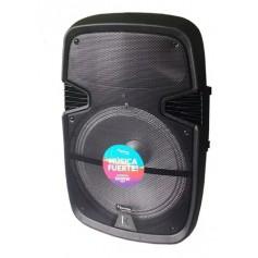 Parlante Portatil Acid Max 50w Kanji 15 Pulgadas Bluetooth Usb Radio Fm