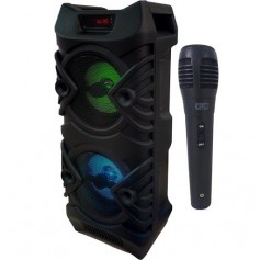 Parlante Portatil Gtc Bluetooth Usb Fm Tf 5W x2 Incluye Microfono Spg-115