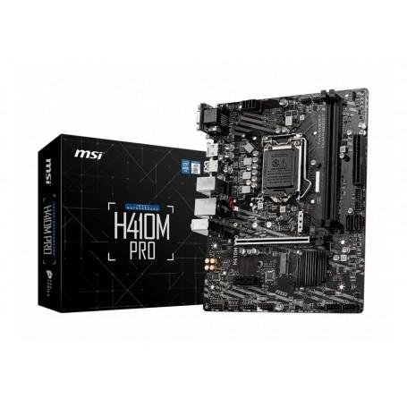 Mother Msi H410M Pro s1200 Intel (Solo 10Ma Gen) Hdmi Ddr4