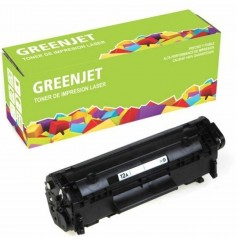 Toner Alternativo Hp Greenjet 12A Negro Hp Laserjet 1010 1012 1015 1018 1020 1022 1005 3015 3020 3030