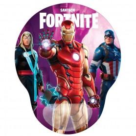 Mouse Pad Con Gel Diseño Fortnite Temporada Heroes Santech