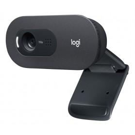 Camara Web Webcam C505Logitech Con Microfono Hd 720p 30Fps Skype Zoom