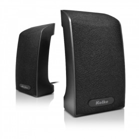 Parlante 2.0 Kolke Kpc-470 Para Pc Stereo 4w Ficha Plug 3.5