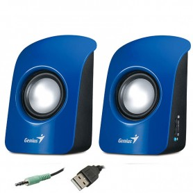 PARLANTE GENIUS SP-U115 COLORFUL USB AZUL