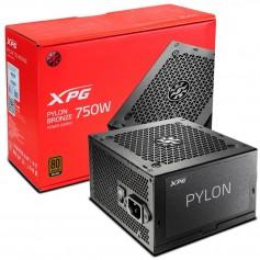 Fuente Pc Xpg Pylon 750w Atx 80 Plus Bronze Cooler 120mm