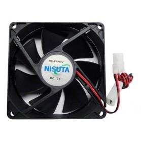 Ventilador Nisuta 92x92x25 Mm Ns-fan92 12V A Ruleman