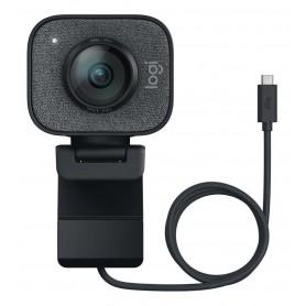 Camara Web Webcam Logitech Stream Cam Plus 1080p 60 Fps Con Tripode
