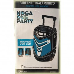 PARLANTE MULTIMEDIA NOGA HPW-K81 BLUETOOTH MICROSD USB RADIO FM