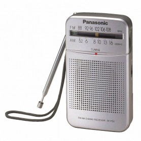 RADIO DE MANO PORTATIL PANASONIC RF-P50 FM AM CON PARLANTE