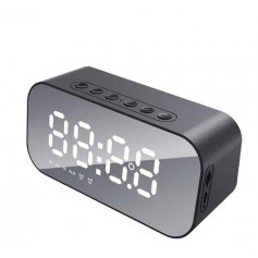 Radio Reloj Despertador Bluetooth Radio Fm Temperatura