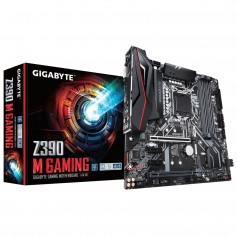 Mother Gigabyte Z390 M Gaming Lga 1151 Intel M2 Type C 7.1 Audio