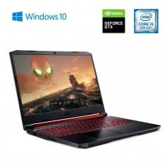 Notebook Acer Nitro 5 I5-9300HQ 8Gb 1Tb Gtx1650 15.6 Pulgadas Black Windows 10 An515-54-50t7 (12 Sin Interes)