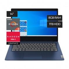 Notebook Lenovo Ryzen 3 3250U 2.6Ghz Pantalla 14 8Gb Disco 1Tb Windows 10 Ip 3 (Promo Efectivo)