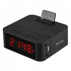 Radio Reloj Kolke Despertador Bluetooth Fm Micro Sd Llamadas Manos Libres Kvr-403