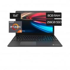 Notebook Acer Gateway Ryzen 5 3450u 256Gb Ssd 8gb Ddr4 Black Gwtn156 (12 Sin Interes)