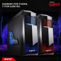 GABINETE PC KIT NOGA GAMER NG-GV34