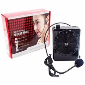 Amplificador De Voz Con Microfono Vincha Turista Excursiones Profesores Usb Micro Sd K8