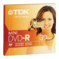 MINI DVD-R TDK 30MIN 1,4GB