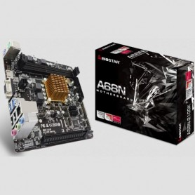 Mother Amd Biostar A68N-2100K + Micro E1 6010 Dual Core Vga Hdmi Usb 3.0