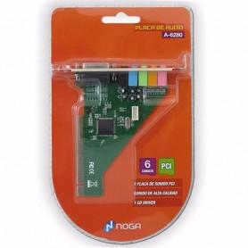 PLACA SONIDO PCI A-6280 6 CANALES NOGANET