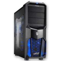 GABINETE PC KIT NOGA GAMER AZUL NG-CP626